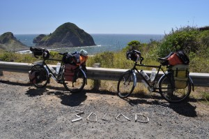 Somewhere along the coast of Oregon, we reached yet another milestone in our journey.
