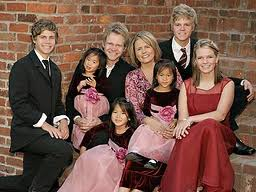 The Chapman family pictured before Maria's death in 2008.