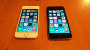 Spiffy new iPhones. We have officially conformed.