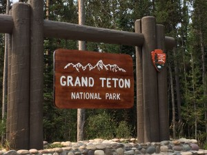 The drive from JH to Yellowstone takes you right through the beautiful scenery of Grand Teton National Park. Unfortunately, no awesome pictures of that because the views were clouded by smoke from wildfires in neighboring states.
